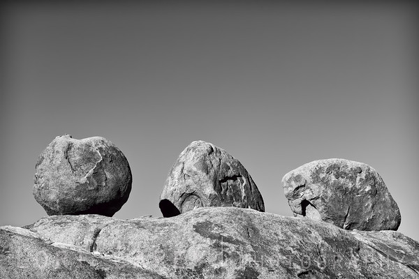 Three Brothers rock formation, Alabama Hills
