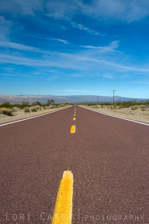 Kelbaker Road in Mojave National Preserve