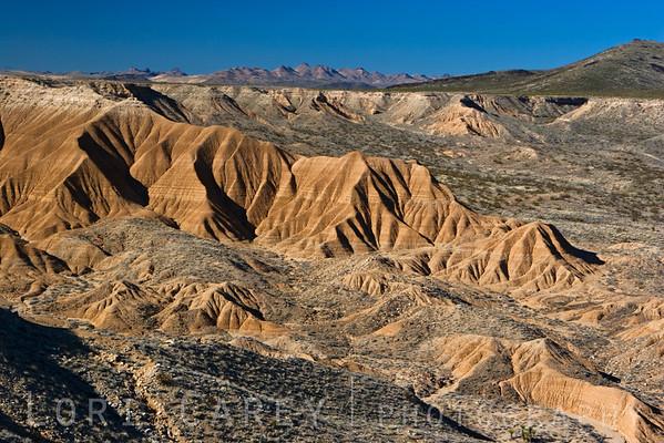 Piute Gorge in the Mojave Desert