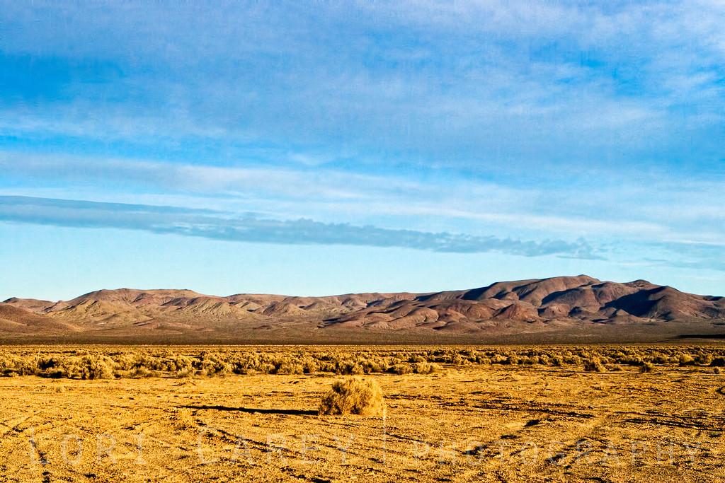 Cuddeback Dry Lake in the western Mojave desert, California, USA