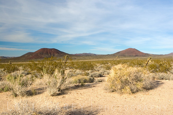 Cinder cones, Cinder Cones and Lava Flows National Natural Landmark, Mojave National Preserve