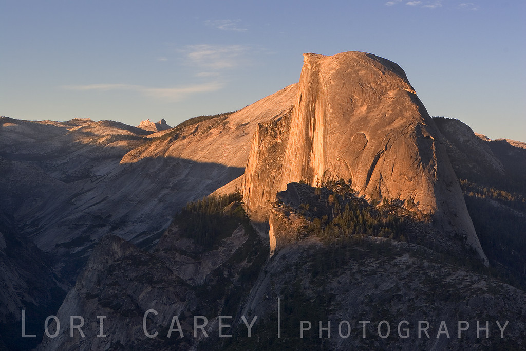 Half Dome at Sunset as seen from Glacier Point, Yosemite National Park