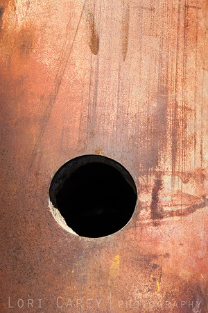 Abstract detail of a BDU-45 full scale Navy practice bomb