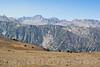 More big Sierra peaks at the top of Coyote Ridge Trail.