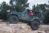 Jeep on Gold Mountain trail in Big Bear, California