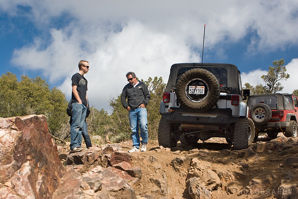 Taking a break on the Gold Mountain trail.