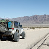 Jeep Wrangler on Harry Wade Exit Route, Death Valley National Park