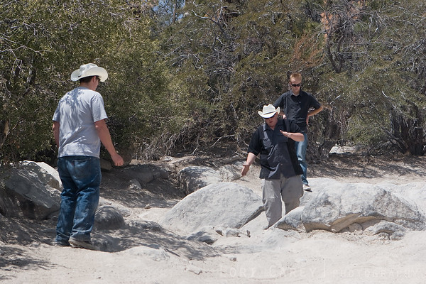 Evaluating the best line on John Bull trail