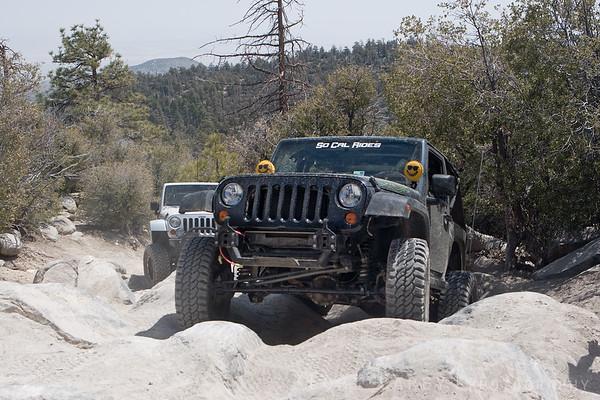 Flexing on John Bull trail