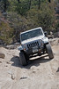 Jeep Wrangler JK on John Bull trail