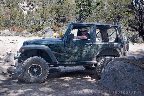Jeep on John Bull trail