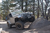 My jeep posing on John Bull trail