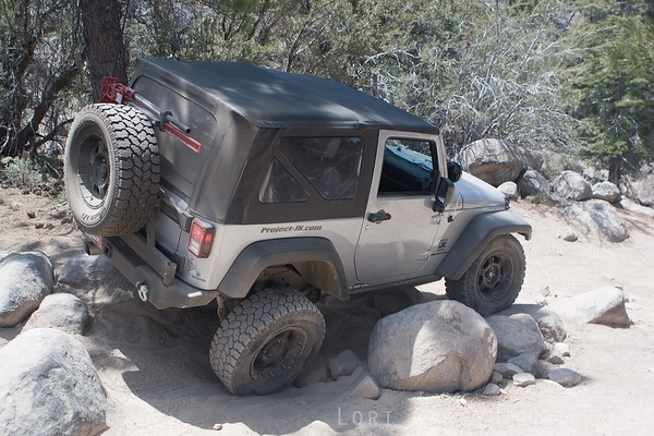 FunN4Lo - navigating the boulders on John Bull trail