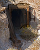 Entrance to gold mine shaft at the Oro Fino/Brannigan mine in the Mojave desert.