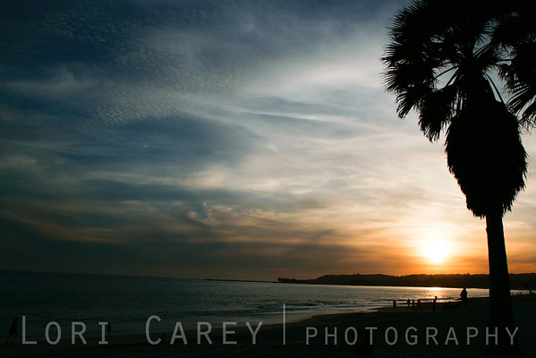 Doheny Beach sunset, Dana Point, California