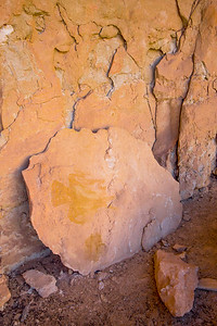 Fallen Cave Valley Style anthropomorphic pictograph, Arizona