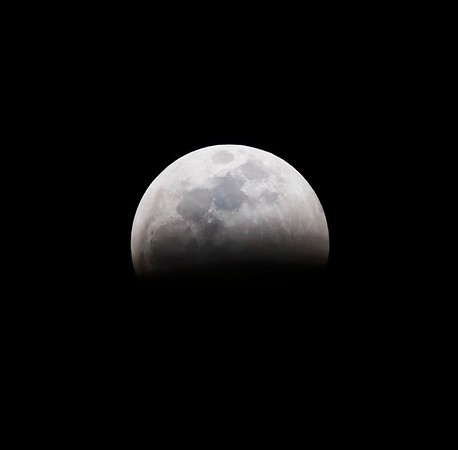 2019 blood moon lunar eclipse as seen from Tucson, Arizona
