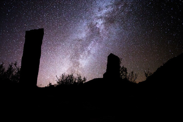 Ancestral Puebloan stonehenge and the Milky Way Galaxy, astronomical markers, Utah