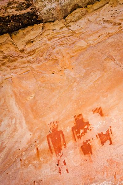 Fremont pictographs, Dinosaur National Monument, Uintah County, Utah