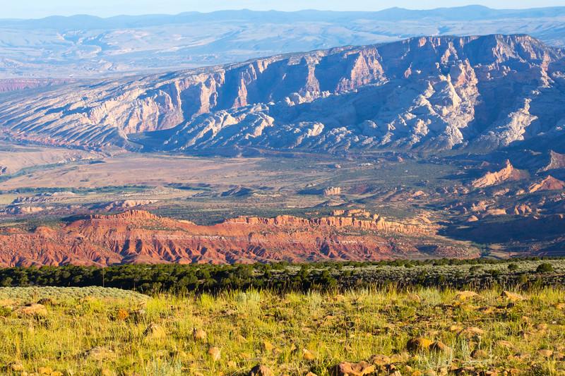 Overlooking Split Mountain, Dinosaur National Monument, Uintah County, Utah