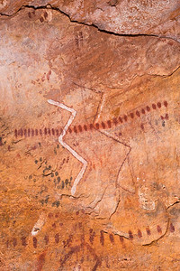 Polychromatic rock art, Desert Archaic, Escalante / Grand Staircase National Monument, Garfield County, Utah (2)