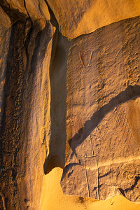 Paiute incised petroglyphs, Escalante / Grand Staircase National Monument, Garfield County, Utah