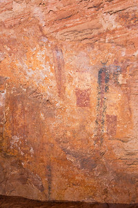 Polychromatic rock art, Desert Archaic, Escalante / Grand Staircase National Monument, Garfield County, Utah (3)