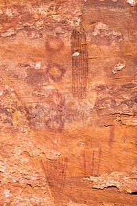 Polychromatic abstract paintings, Desert Archaic, Escalante / Grand Staircase National Monument, Garfield County, Utah (3)