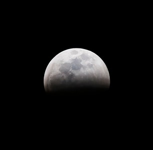 2019 blood moon lunar eclipse as seen from Tucson, Arizona