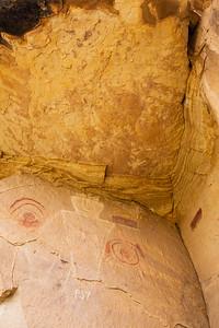 Pictographs, McConkie Ranch, Uintah County, Utah