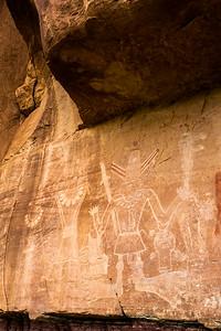 Petroglyphs, McConkie Ranch, Uintah County, Utah