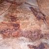 Dinosaur bones, Brushy Basin Member of the Morrison Formation, Molen Reef, Utah