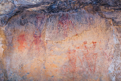Fremont pictographs, Great Basin National Park, White Pine County, Nevada