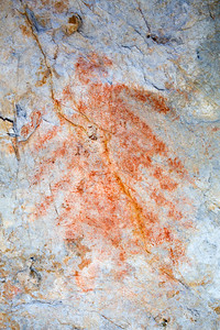 Fremont pictographs, Nevada