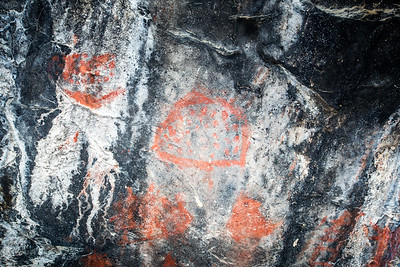 Fremont pictographs, Great Basin National Park, White Pine County, Nevada (2)