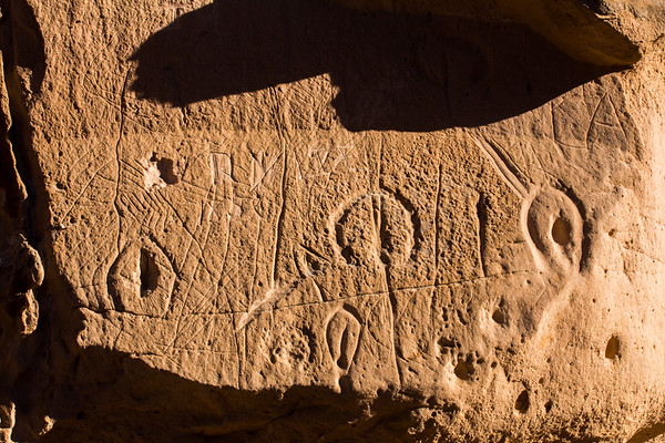 Great Basin Curvilinear Style, Hickison Petroglyph Recreation Area, Lander County, Nevada (3)