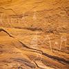 Fremont anthropomorphic petroglyphs, Nine Mile Canyon, Utah