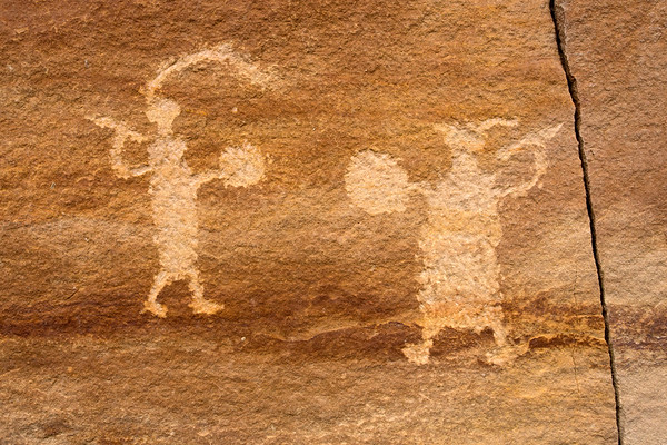 Fremont petroglyph panel, Nine Mile Canyon, Utah (4)