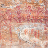 Barrier Canyon Style pictographs, Desert Archaic, Emery County, Utah
