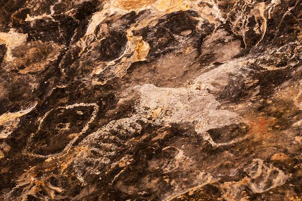 Apache pictographs, southern Arizona
