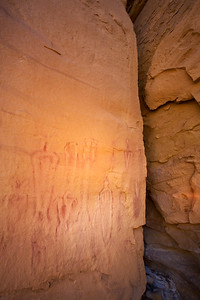 Barrier Canyon Style pictographs, Utah