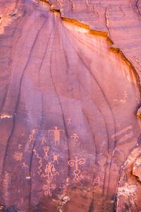 Virgin Ancestral Puebloan petroglyphs, Utah