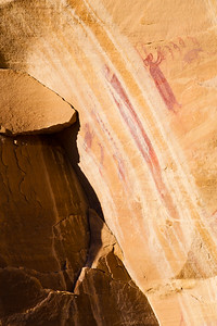 Barrier Canyon Style pictographs, Desert Archaic, Utah