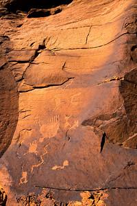 Ancestral Puebloan petroglyphs, Utah