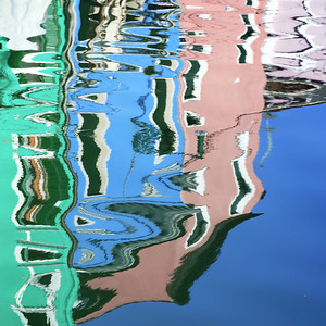Reflections In Burano II