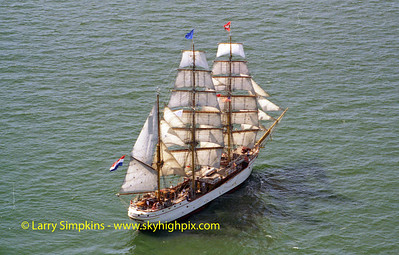 """Europa"" Chesapeake Bay, Virginia, June 2000, Image #1049"