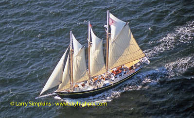 """Kathryn B"" Great Chesapeake Bay Schooner Race, October 2000, Image #S1325"
