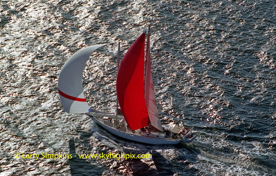 """Grand Nellie"" Great Chesapeake Bay Schooner Race, October 2000, Image #S1229"