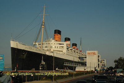 RMS Queen Mary, Long Beach,CA. September 2005. Image# 009