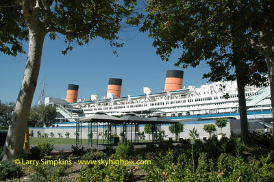 RMS Queen Mary, Long Beach,CA. September 2005. Image# 100